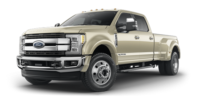 2018 Ford Super Duty F-450 KING RANCH | Photo 6 | White Gold