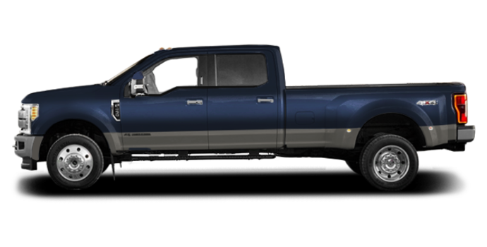 2018 Ford Super Duty F-450 KING RANCH | Photo 4 | Blue Jeans Metallic/Stone Grey