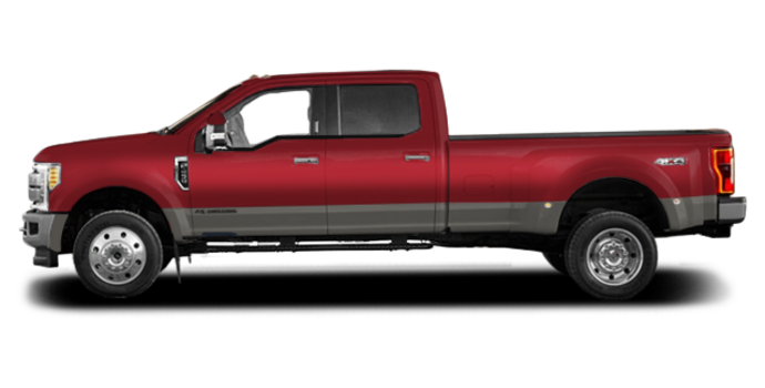 2018 Ford Super Duty F-450 KING RANCH | Photo 4 | Ruby Red/Stone Grey