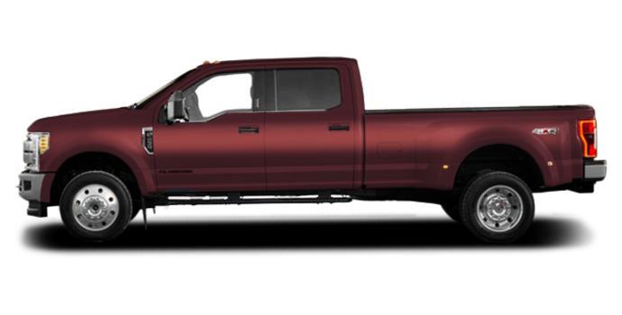 2018 Ford Super Duty F-450 XLT | Photo 4 | Magma Red