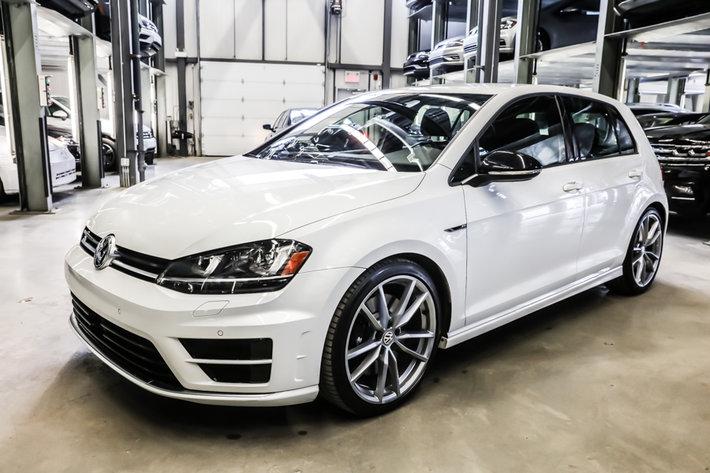 Volkswagen Golf R 2017 4 roues motrice!