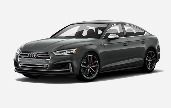2019 Audi S5 Sportback Technik Grey Exterior, Black Interior, 349 HP