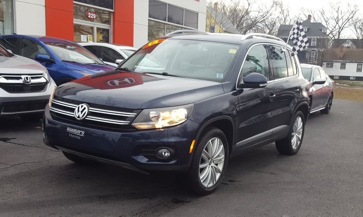 Used 2014 Volkswagen Tiguan Highline AWD, Leather Interior in Sydney ...