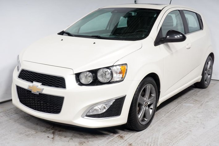 2015 Chevrolet Sonic RS TURBO CUIR TOIT CAMERA used for sale in
