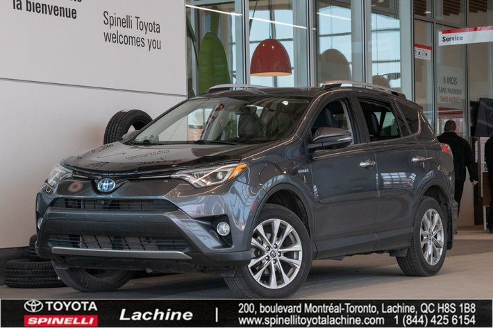 2016 Toyota RAV4 Hybrid Limited - AWD IMPECCABLE! FULLY EQUIPPED! GPS! LEATHER! 360 CAMERA! HEATED SEATS! BLUETOOTH! MAGS! SUNROOF!