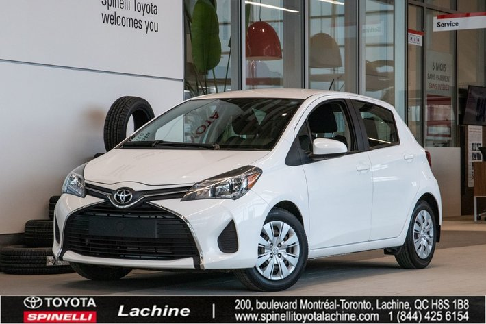 2015 Toyota Yaris LE VERY CLEAN! AIR CONDITONED! BLUETOOTH! MILEAGE! SUPER PRICE! HURRY!