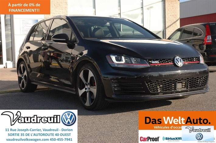 mode de vente chaude meilleure sélection nouvelles photos Used 2016 Volkswagen Golf Autobahn + CUIR + TECHO + 1000 ...