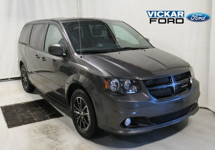 2017 Dodge Grand Caravan Black Top Dvd Used For Sale In Leather