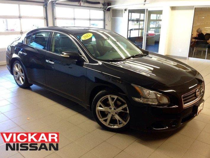 2012 Nissan Maxima Sportmoonroof19 Wheelsblack On Black Used