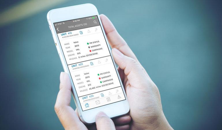 Volvo Trucks Introduces New Mobile App for ASIST Service Management Platform