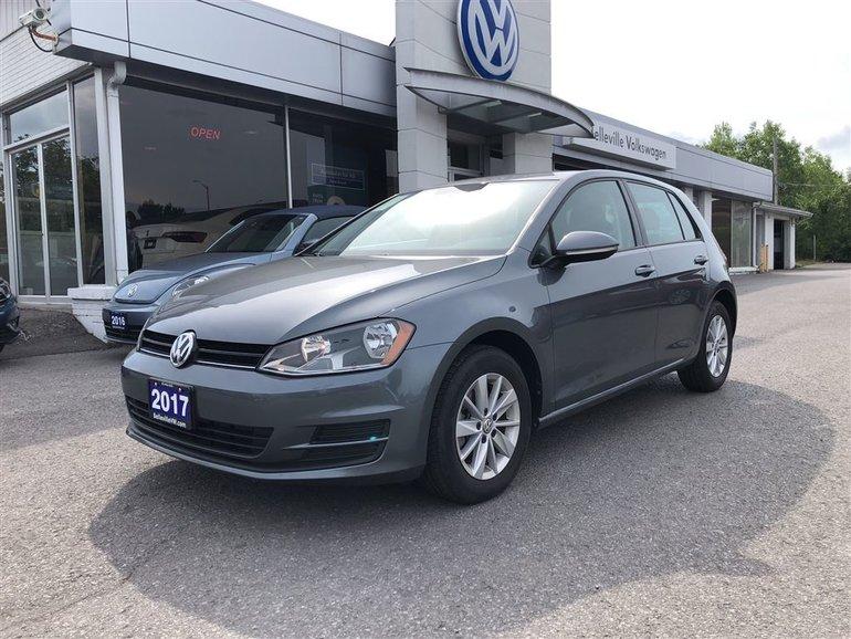 2017 Volkswagen Golf Trendline Plus