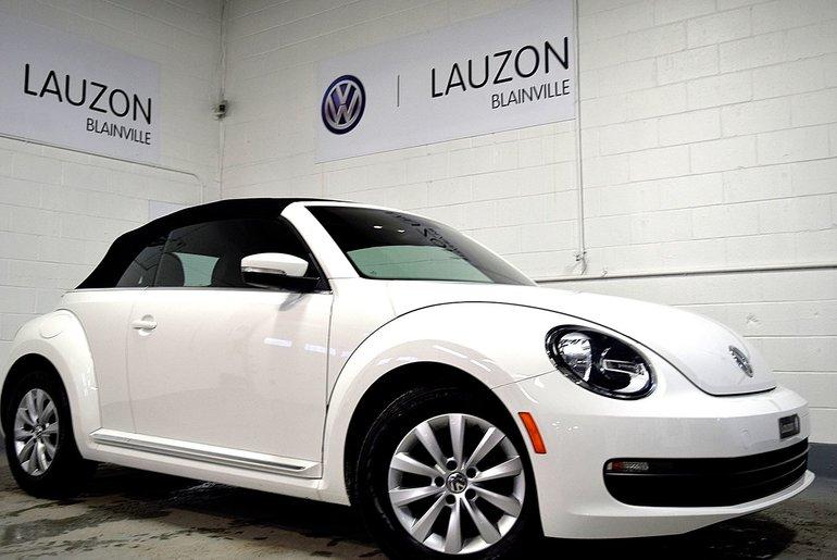 Volkswagen Beetle Convertible Cabriolet 2014