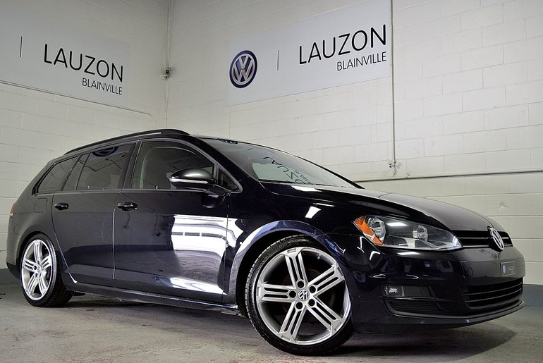 2015 Volkswagen Golf Sportwagon Comfortline avce toit 1.8 TSI