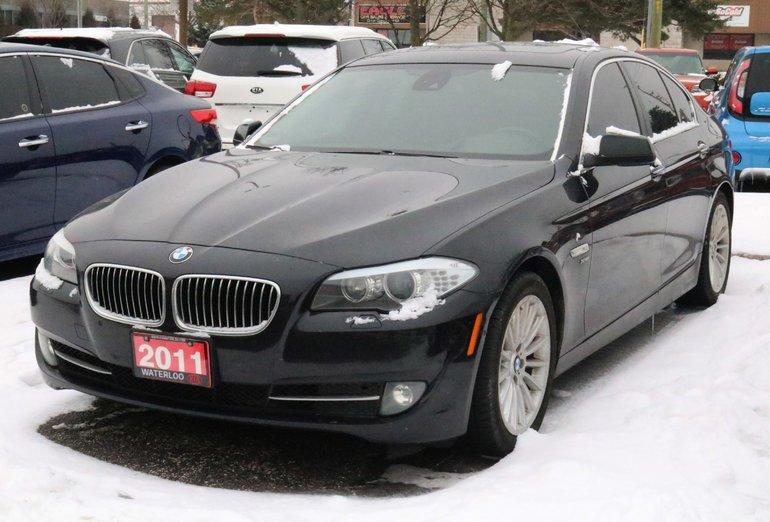 2011 BMW 5 Series I xDrive EXECUTIVE/PREMIUM PKG