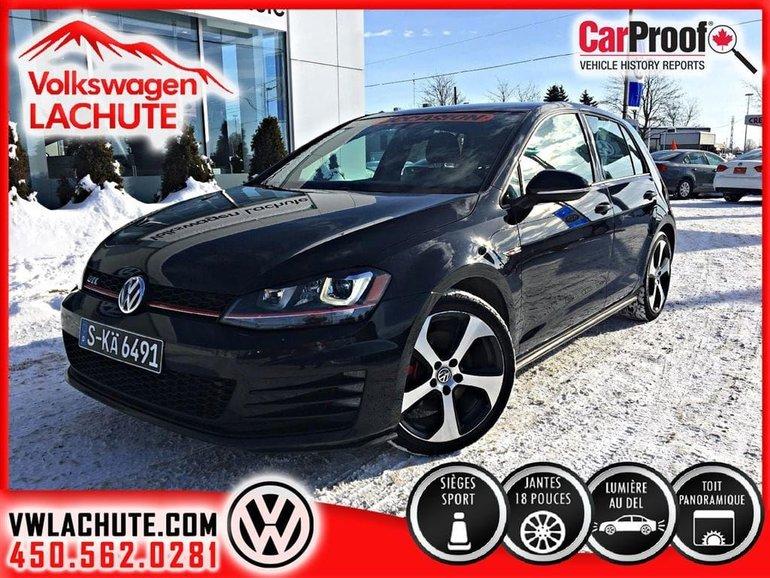 Volkswagen Golf GTI AUTOBAHN+CUIR+TOIT+NAVIGATION+ 2015
