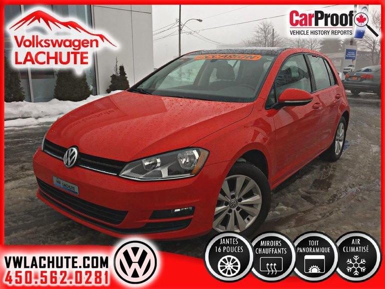 Volkswagen Golf COMFORTLINE+TOIT+MAGS+SIMILICUIR***** 2015