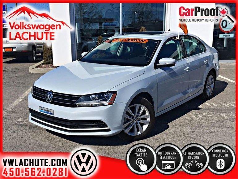 2016 Volkswagen Jetta WOLFSBURG 2017 AU PRIX D'UN 2016