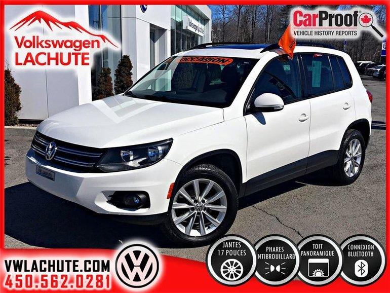 Volkswagen Tiguan COMFORTLINE+WOW!!UN 2013 AU PRIX D'UN 2012!!+ 2012