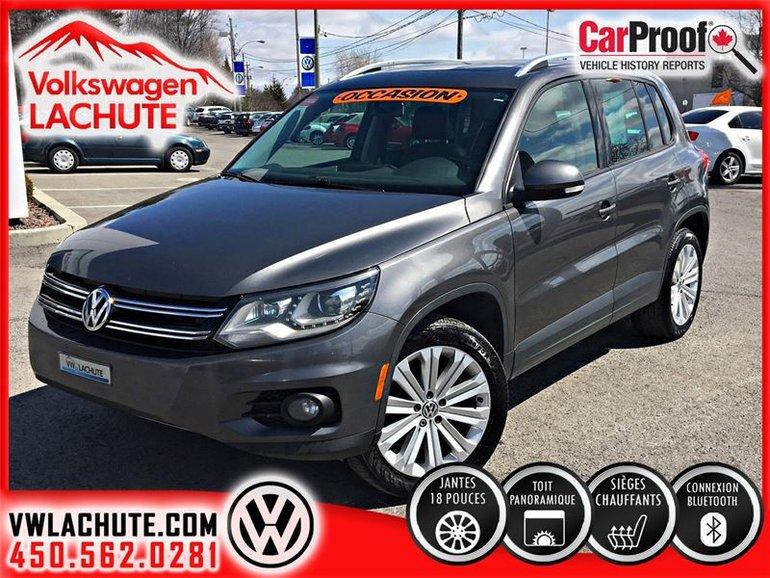 Volkswagen Tiguan COMFORTLINE+PRIX LIQUIDATION+TOIT PANO+ MAGS 2014