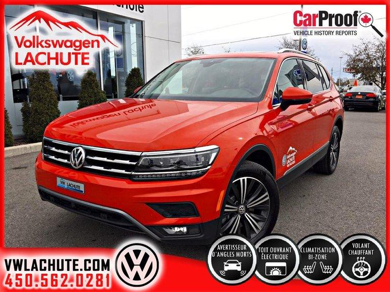 Volkswagen Tiguan HIGHLINE+8 PNEUS INCLUS+AIDE À LA CONDUITE+ 2018