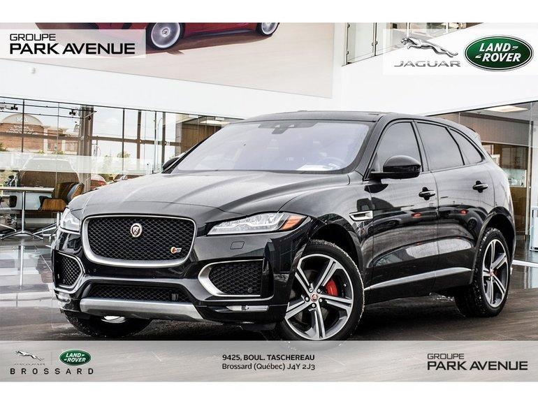 2017 Jaguar F-Pace S | NAV + CAMÉRA DE RECUL