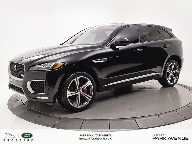 Jaguar F-Pace S   NAV + CAMÉRA DE RECUL 2017