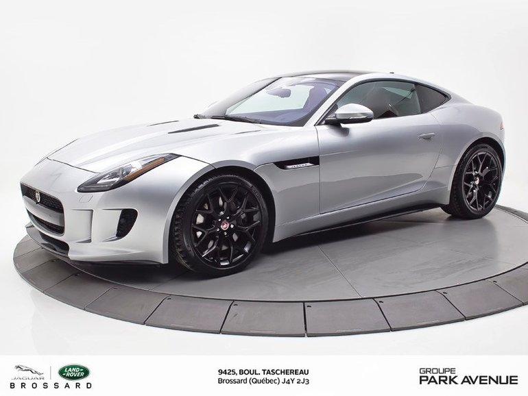 2017 Jaguar F-Type V6   SILVER RED EDITION   BLACK PACK