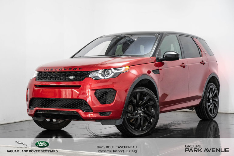 Land Rover DISCOVERY SPORT 286hp HSE 2018