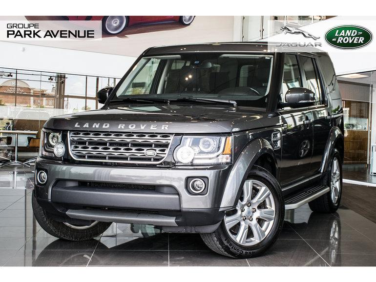 Land Rover LR4 CERTIFIÉ | (R) 2016