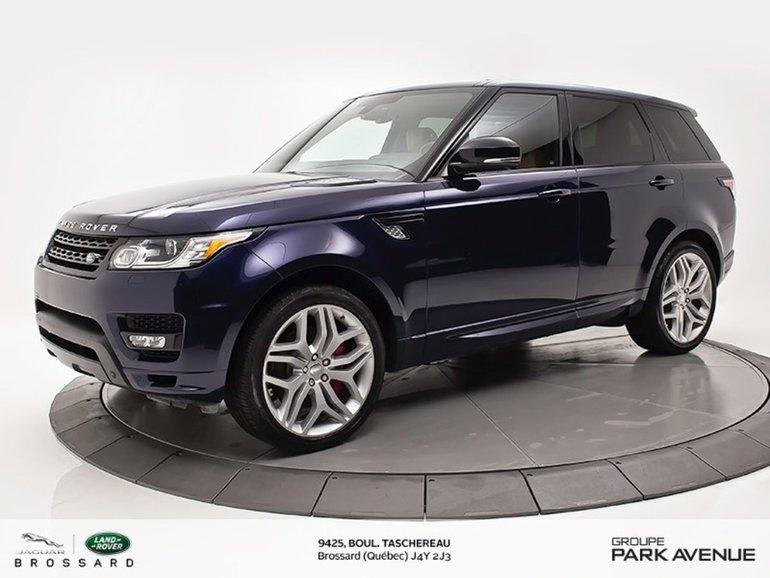 2015 Land Rover Range Rover Sport V8 Supercharged BIOGRAPHY   ENS.CLIMAT + NAV