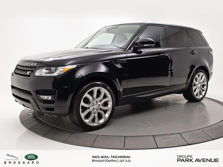 Land Rover Range Rover Sport V8 Supercharged   PARE-BRISE ET VOLANT CHAUFFANT 2015