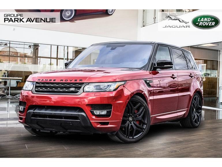 2016 Land Rover Range Rover Sport HST | BLACK CONTRAST + NAV