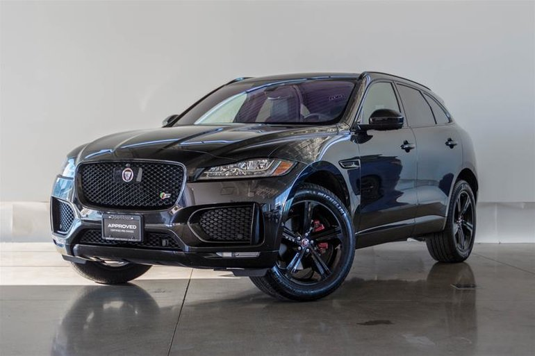 Pre-Owned 2018 Jaguar F-PACE S AWD - $71995.0 | Land Rover ...