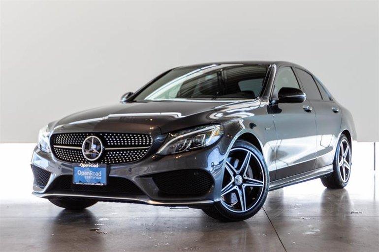 Pre Owned 2016 Mercedes Benz C450 Amg 4matic Sedan 40995 0 Land