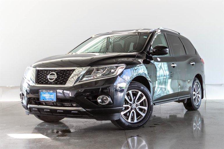 2015 Nissan Pathfinder S V6 4x4 at