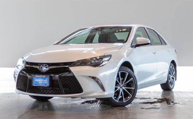 2017 Toyota Camry 4-Door Sedan XSE 6A