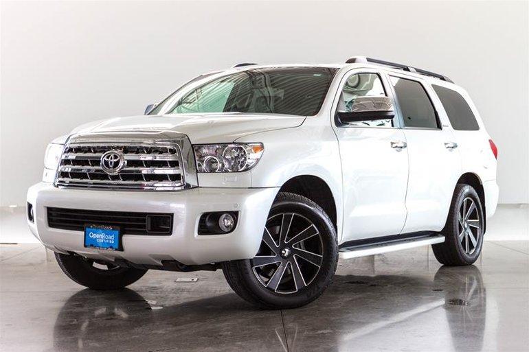 2012 Toyota Sequoia Platinum 5.7L 6A