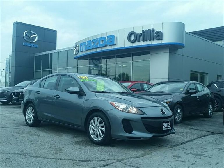 2012 Mazda Mazda3 GS-HEATED SEATS-LEATHER WRAPPED STEERING WHEEL