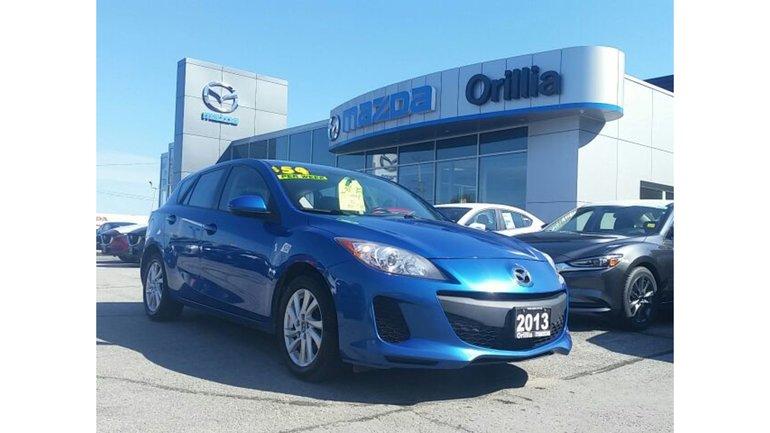2013 Mazda Mazda3 MANUAL-A/C-CRUISE-BLUETOOTH
