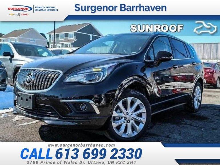 Buick ENVISION Premium  - Sunroof - $323.76 B/W 2018