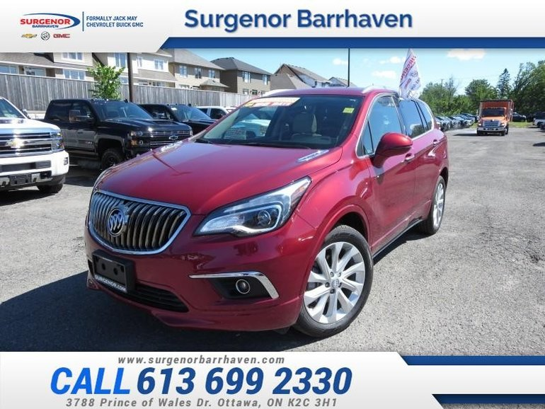 2018 Buick ENVISION Premium  - Certified - Leather Seats - $235.70 B/W