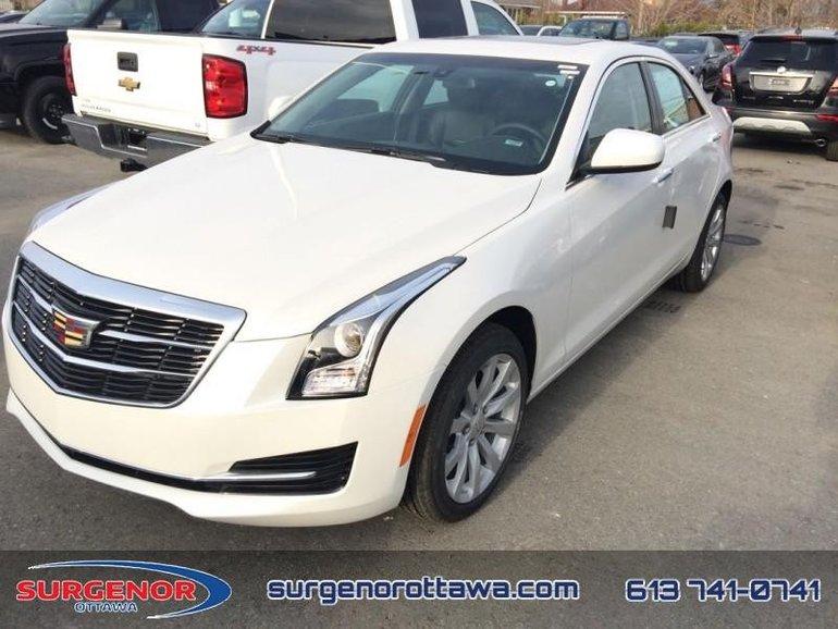 2018 Cadillac ATS 2.0 Turbo  - Sunroof - $287.54 B/W