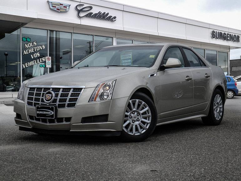 2013 Cadillac CTS RWD