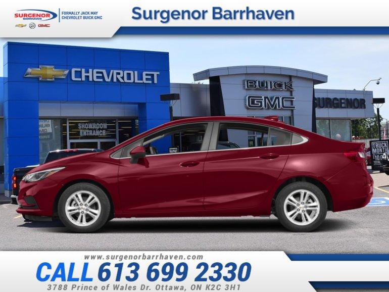 Chevrolet Cruze LT  - $147.02 B/W 2018
