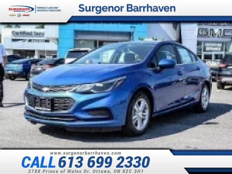 2018 Chevrolet Cruze LT  - $146.46 B/W