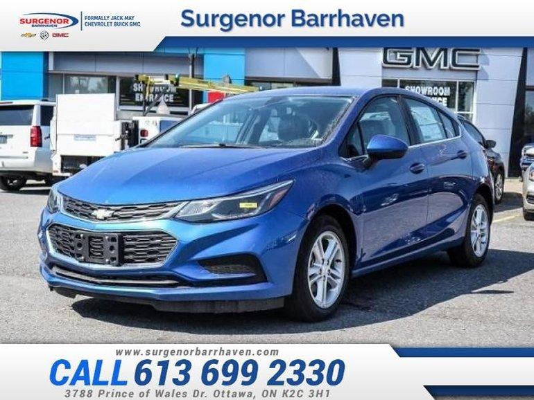 2018 Chevrolet Cruze LT  - $139.16 B/W