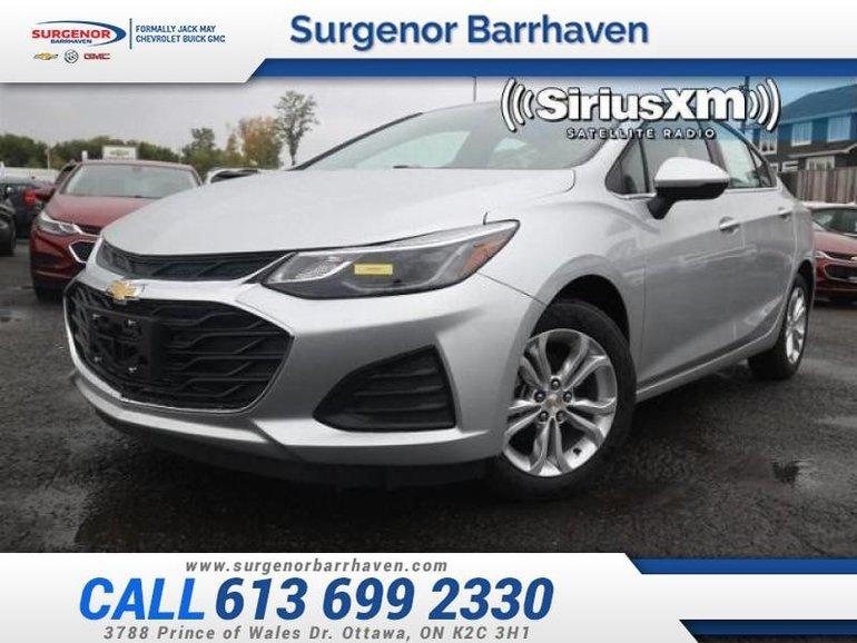 2019 Chevrolet Cruze LT  - Heated Seats -  Bluetooth - $154.55 B/W