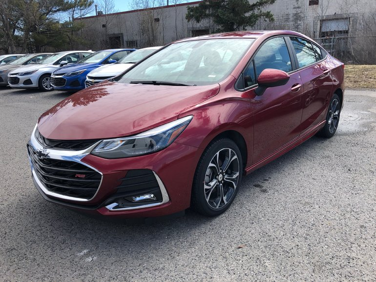 New 2019 Chevrolet Cruze LT for Sale - $24744.0 | Surgenor ...