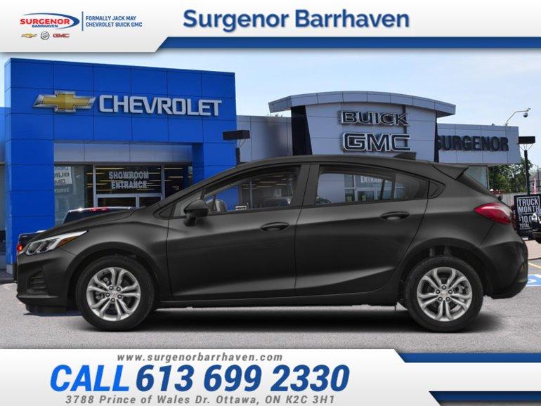 2019 Chevrolet Cruze LT  - Apple CarPlay -  Android Auto - $142.78 B/W
