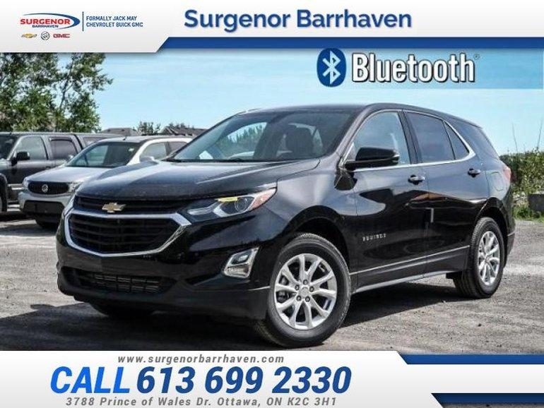 2018 Chevrolet Equinox LT  - Bluetooth -  Heated Seats - $200.31 B/W